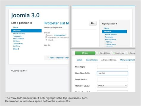 template joomla protostar download joomla protostar how to change your joomla 3 1 site