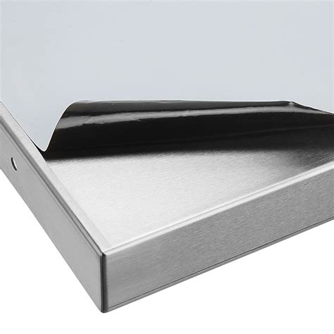 stainless steel wall shelf 2 1m commercial catering