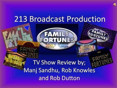 Family Fortunes Slideshow Authorstream Family Fortunes Powerpoint