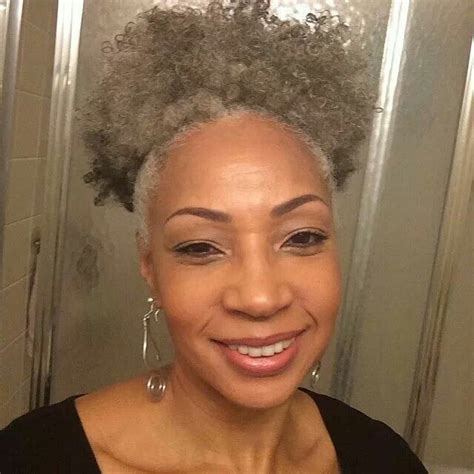 afro american gray hair gray curls african american beauty and hairstyles