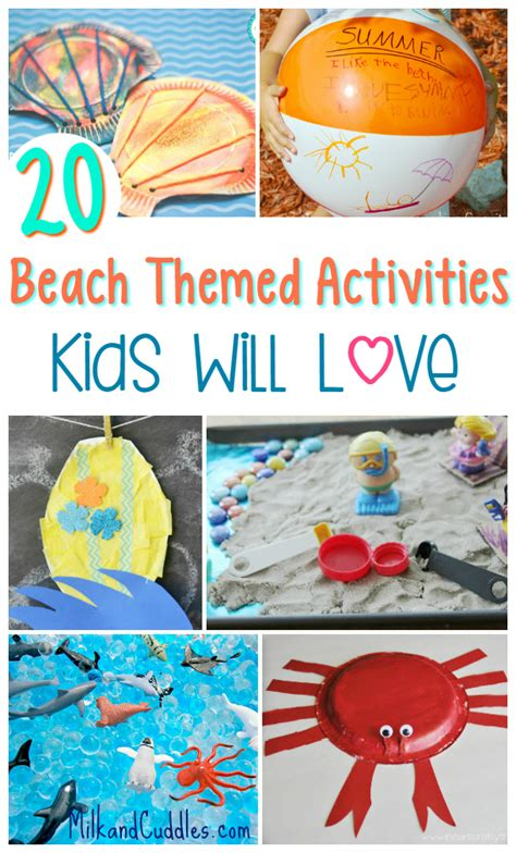 themed events for youth 20 beach themed activities for kids everyday best