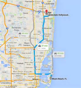 map of florida miami and fort lauderdale fort lauderdale miami arts et voyages