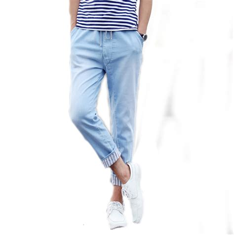 Baby Blue Mens Pants Pant So