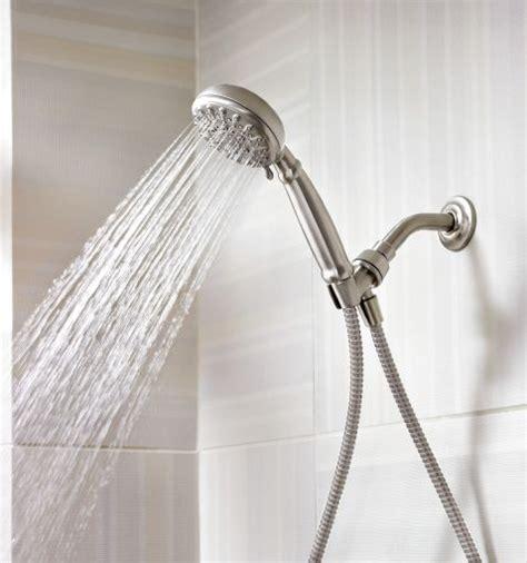 Banbury spot resist brushed nickel handheld shower