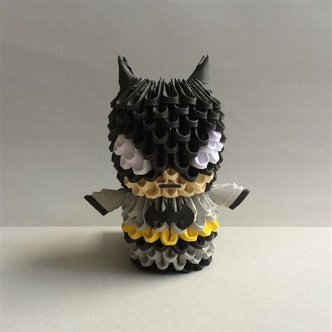 3d origami batman tutorial 61 best images about origami pics on pinterest brown