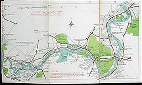 river thames map lechlade stanford s new map of the river thames from richmond to