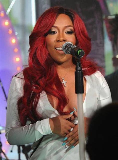 k michelle red weave k michelle red hair long hair pinterest