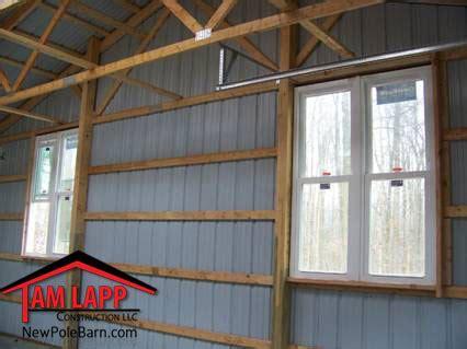 residential pole barn building green lane tam lapp
