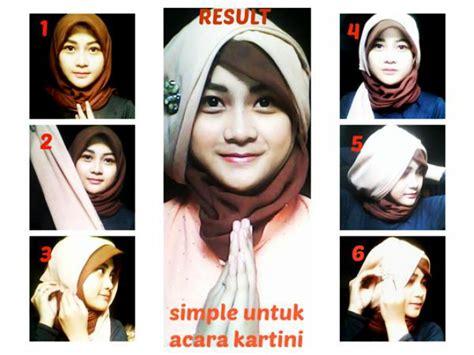 tutorial jilbab kartini hijab simpel untuk acara kartini dream co id