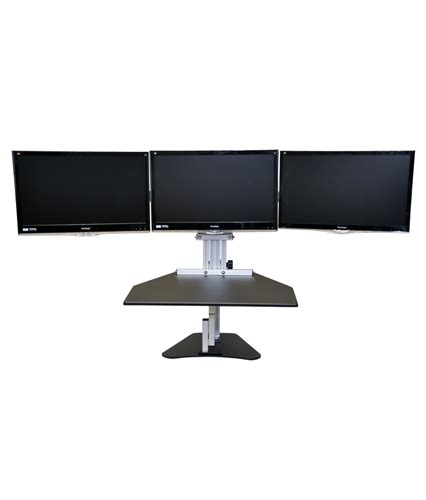 kangaroo monitor stand kangaroo elite desktop sit stand workstation monitor