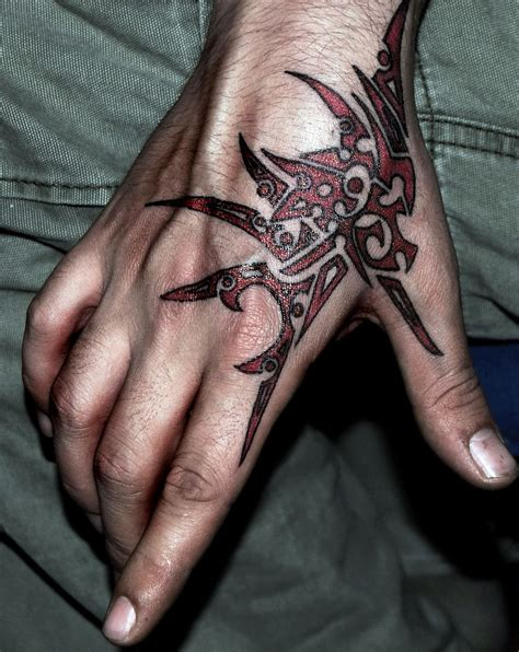 hand tattoo tribal designs for amazing