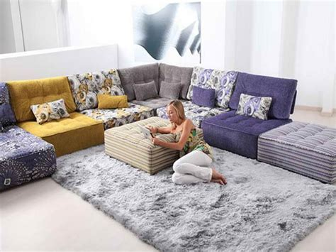 modular floor cushions sofas ideas comfort modular floor pillows ideas plastic
