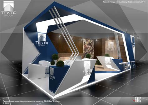 booth design behance project tekta group booth at the exhibition real estate in