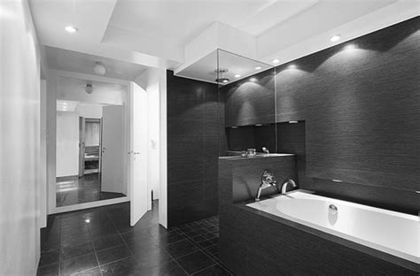 Modern Black And White Bathroom by Beauteous Black And White Bathroom Decor Concepts With