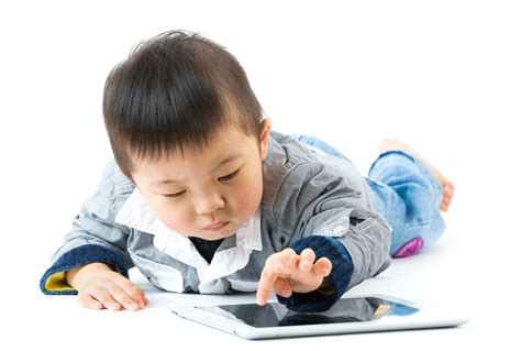 with toddlers toddlers and educational electronic devices