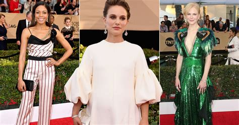 Sag Award Trends Whites by Sag Awards 2017 The Fashion Trends On The