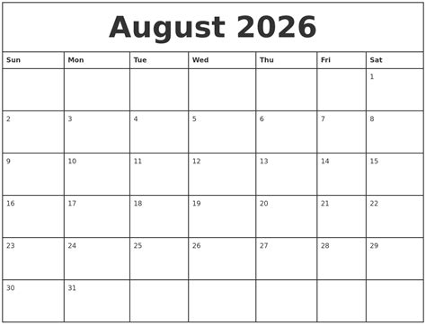 printable monthly calendars with pictures august 2026 printable monthly calendar