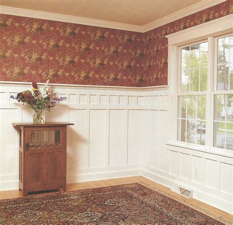 Craftsman Wainscoting by The Mission Wainscoting Wainscoting Ideas