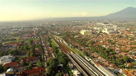 aerial kota cirebon jawa barat indonesia youtube