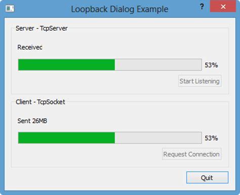 tutorial qt5 android qt5 tutorial qtcpserver loopback exle 2018