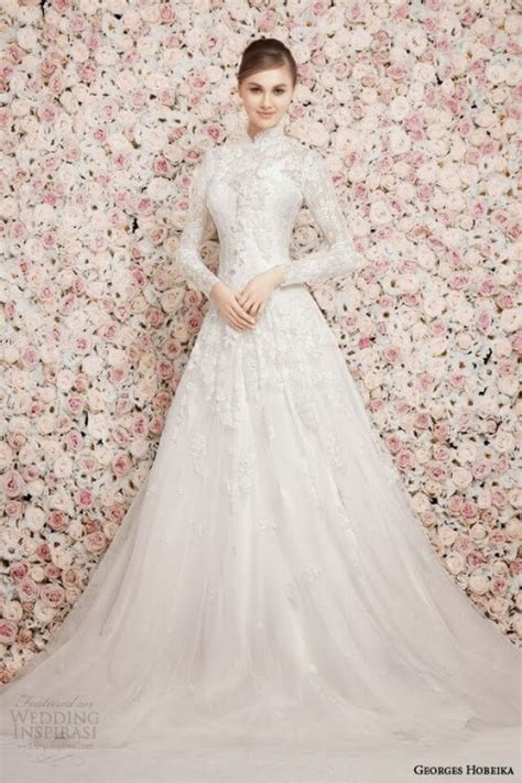 stunning long sleeve wedding dresses