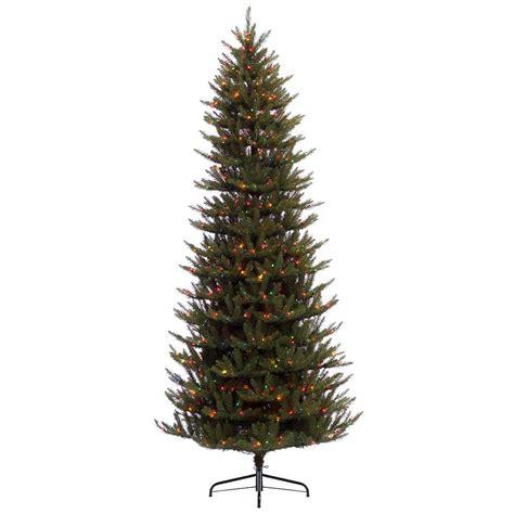 12 ft slim artificial christmas tree