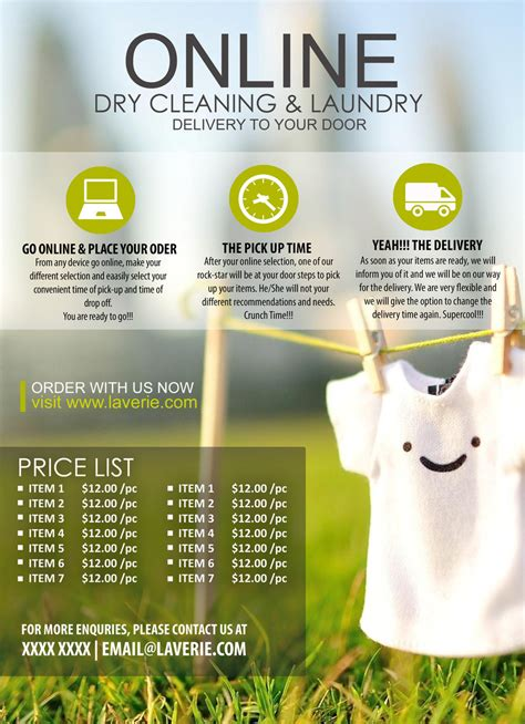 design a laundry online entry 13 by jacklai8033399 for design a flyer for online