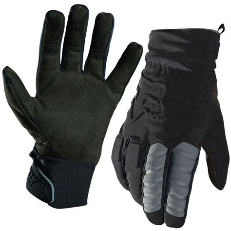 fox motocross gloves fox racing forge cold weather mens road dirt bike
