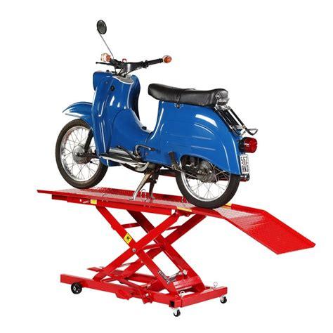 Gebrauchte Motorradhebeb Hnen by Hebeb 252 Hne F 252 R Roller Und Moped Powerplustools Gmbh