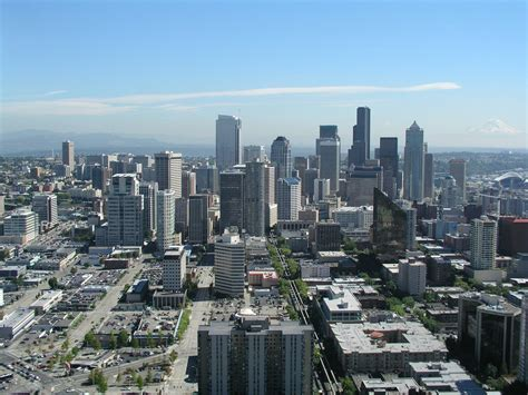 free downtown seattle stock photo freeimages