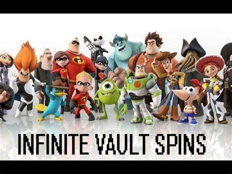 disney infinity vault disney infinity infinite vault spins