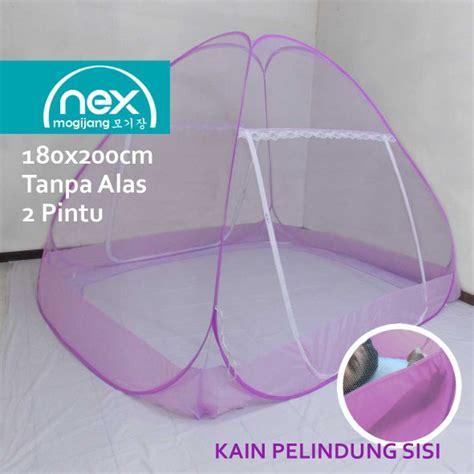 Kelambu Polos 180x200 jual kelambu lipat nyamuk modern merk nex mogijang 180x200