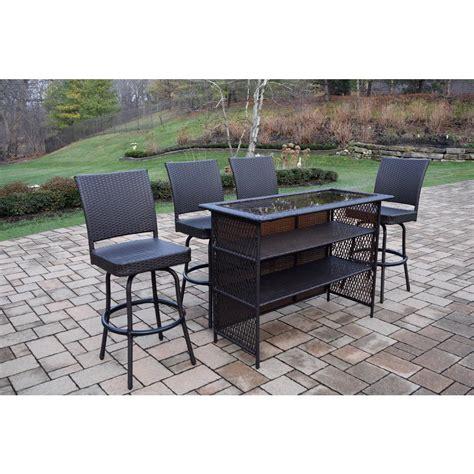 resin wicker outdoor patio dining set car design today