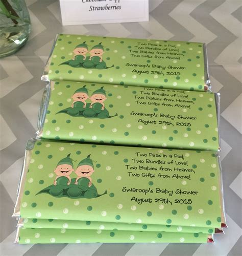 Bar Labels For Baby Shower by Two Peas In A Pod Baby Shower Theme Favors Hershey