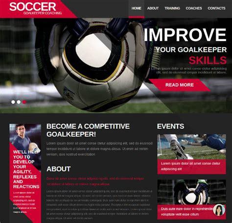 43 Sports Website Themes Templates Free Premium Templates Sports Team Website Template