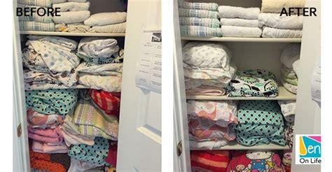 organize your linen closet jen on