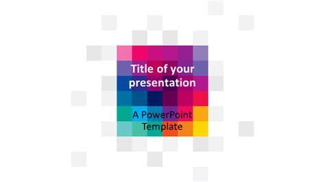 templates powerpoint widescreen modern pixels powerpoint template presentationgo com