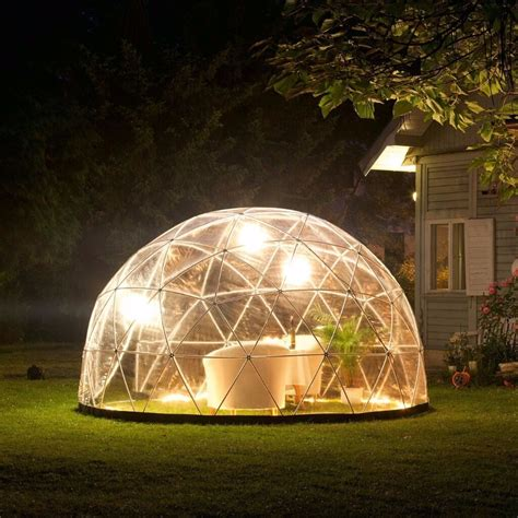 garden igloo gazebo green house  geodesic dome  pvc