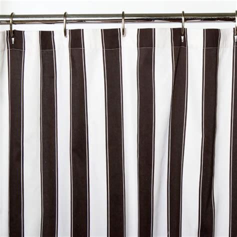 black stripe shower curtain striped shower curtain trendy x inch striped shower