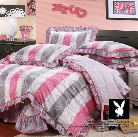 playboy comforter set playboy 4 piece fresh summer korean style bedding set