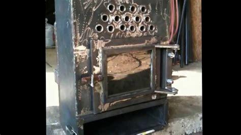Handmade Wood Stove - pellet stove part 1 4