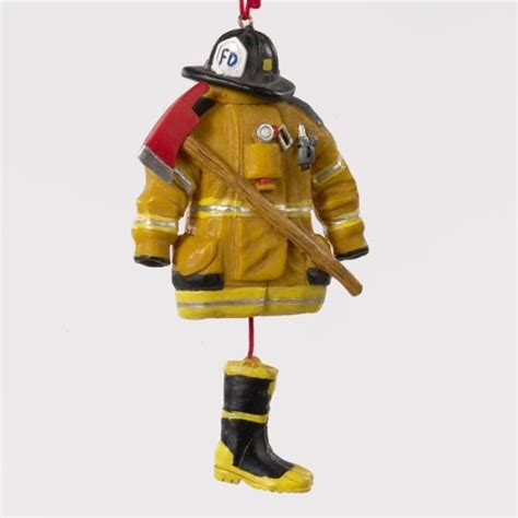 fishlander 174 gt boating gt resin fireman dress ornament