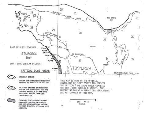 critical dunes emmet county