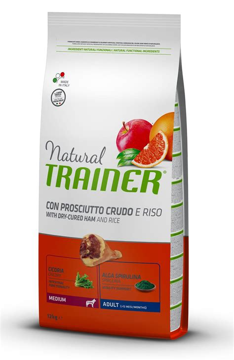 Hundefutter Trainer Natural, Adult Medium, Cured Ham, Rice ... Royal Jelly Wirkung