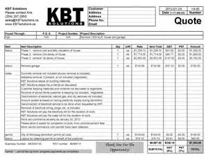 Professional Receipt Template by Professional Quotes Receipts