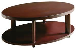 oval coffee table contemporary coffee tables by