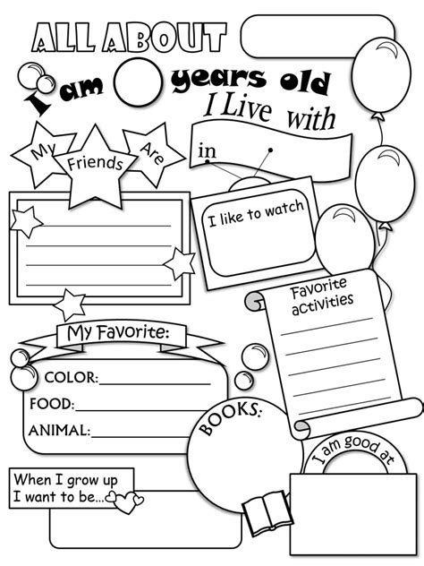 preschool coloring pages all about me all about me coloring pages pictures imagixs about me