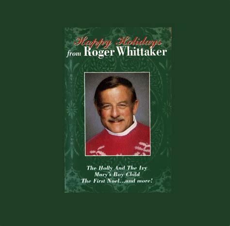 roger whittaker happy holidays dmk vinyl christmas lp record album transferred  cd