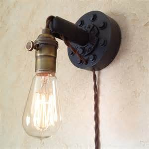 Retro Wall Sconces In Industrial Wall Sconce Retro Edison By Ironcladindustrial