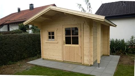 Regenrinne Gartenhaus